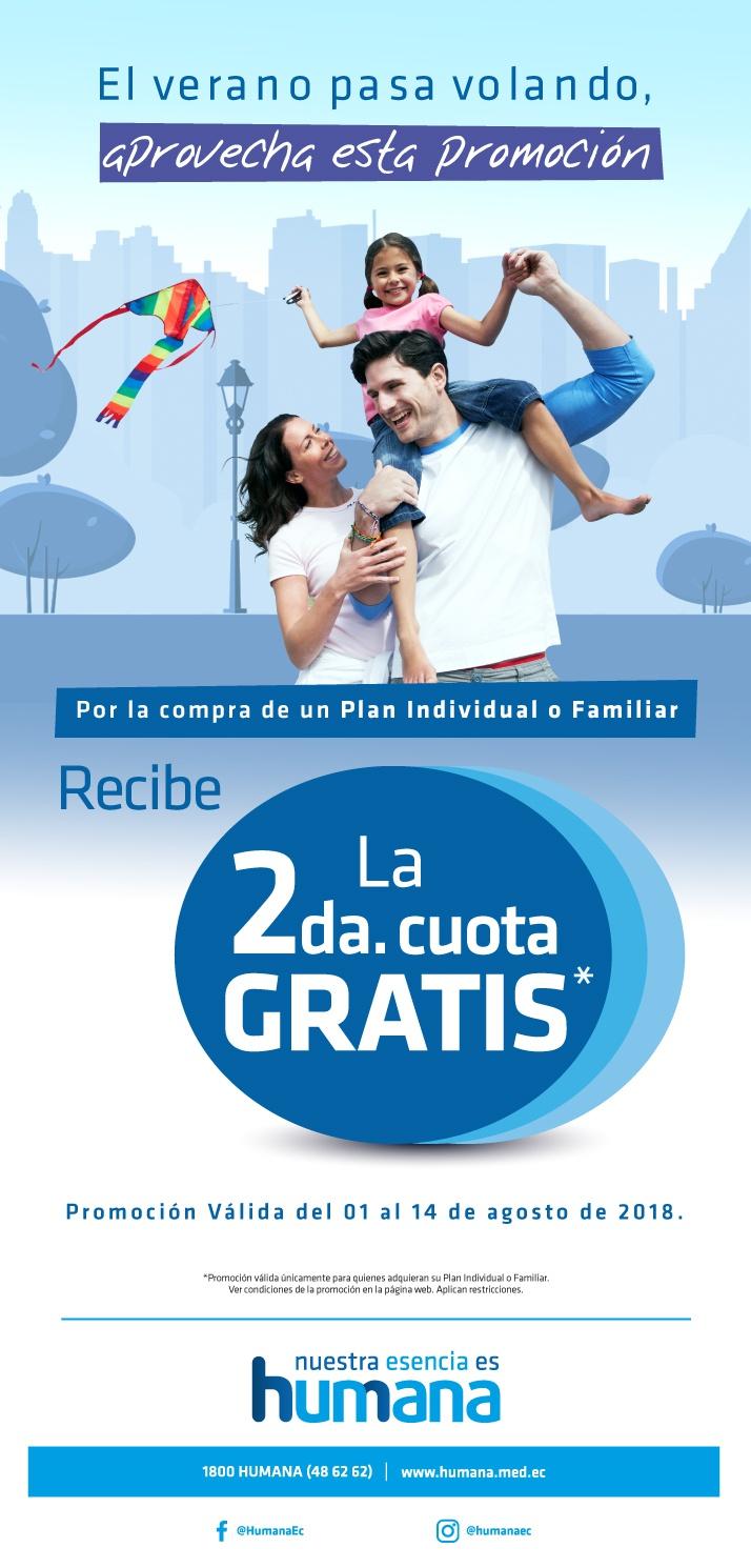 Promoción agosto Quito