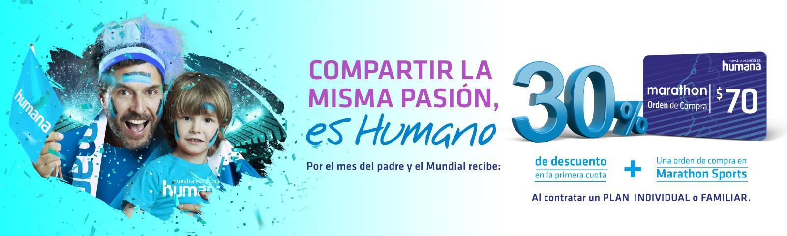 Compartir la misma pasión es humano