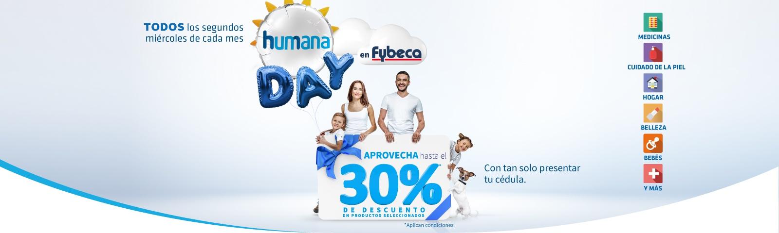Humana Day en Fybeca